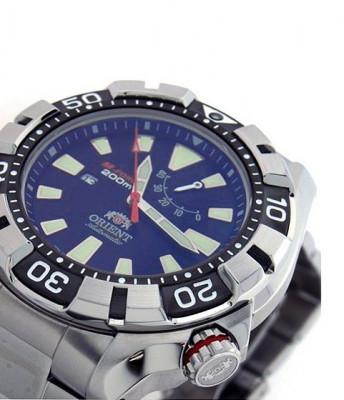 Orient M-Force Automatic Blue Diver férfi karóra, SEL03001D, Búvár, Automata, Nemesacél