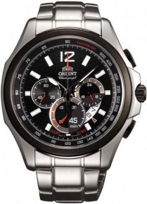Orient Sporty Chronograph férfi karóra, FSY00001B, Sportos, Kvarc, Nemesacél
