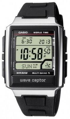 Casio Wave Ceptor férfi karóra, WV-59E-1AVEF, Sportos, Digitális, Szilikon