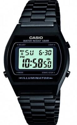 Casio Retro unisex karóra, B640WB-1AEF, Sportos, Digitális, Nemesacél
